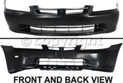 Front Bumper Cover Fascia For 1998-2000 Honda Accord Sedan 98-00 NEW Primered