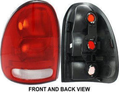 1996 Chrysler Town & Country Tail Light, Driver Side