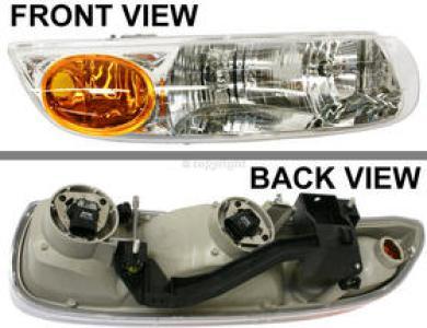 2002 Saturn Sl2 Headlight Penger Side