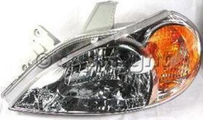2001 Kia Rio Headlight Driver Side