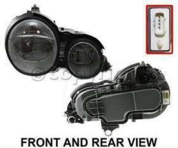 Headlight passenger side auto parts fair for Mercedes benz auto parts store