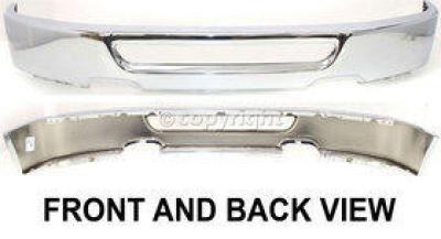 New FO1002401 Front Bumper  Front Bumper w// spoiler prov for Ford F-150 06-08
