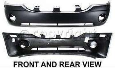 GM1000641C Bumper Cover for 02-09 GMC Envoy CAPA Front