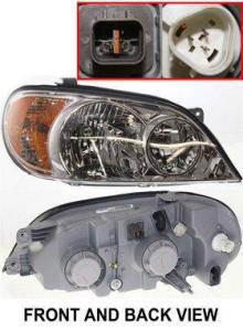 2005 KIA Sedona Headlight, Passenger Side