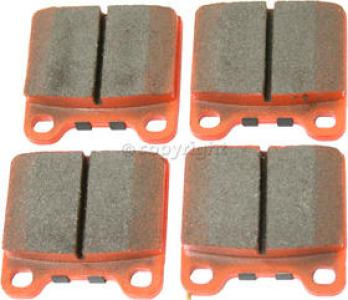 1987 Maserati Biturbo Brake Pad Set, Rear