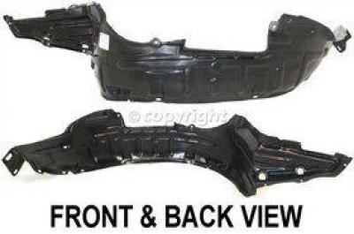 Left /& Right Side Engine Splash Shield For 98-2001 Nissan Altima Set of 2