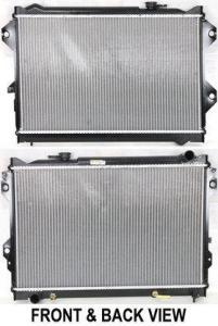 Radiator For 1989-1993 Mazda B2600 2.6L 4 Cyl 1991 1990 1992 8011424 Radiator