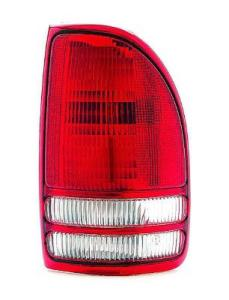 2004 Dodge Dakota Pickup Tail Light Lens And Housing , Passenger Side