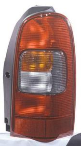 2005 Pontiac Montana Tail Light Lens And Housing, Passenger Side