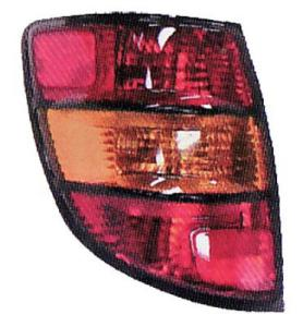 2008 Pontiac Vibe Tail Light Lens And Housing , Passenger Side