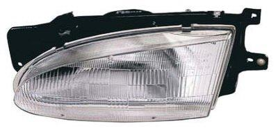 1997 Hyundai Accent Sedan Passenger Side Head Light Assembly