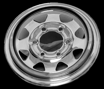 "1991 Nissan Hardbody Pickup 14"" X 6"" Steel Wheel"