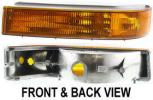 Turn Signal Light, Driver Side