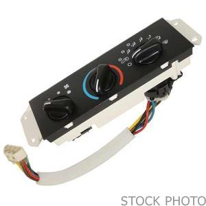 2011 Buick Enclave Heater and A/C controls (Not Actual Picture)