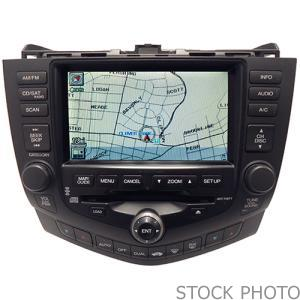 2010 Honda Crosstour TV-Info-GPS Screen (Not Actual Picture)